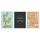 A4 A5 Or A6 The Notes Of A Genuis Hardback Casebound Lined Notebook 80gsm Paper