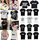 CH Fashion Women Girl Tops Funny Tee shirts Short sleeve Cotton Men T-Shirt Gift