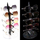 5 Pair Acrylic Sunglasses Glasses Show Rack Counter Display Stand Holder Hot