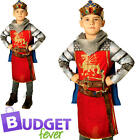 King Arthur Boys Fairy Tale Fancy Dress Medieval Book Day Childrens Kids Costume