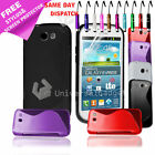S LINE GEL SILICONE RUBBER CASE COVER SAMSUNG GALAXY EXPRESS I8730