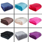 Catherine Lansfield - Super Soft Mink Fleece Thrown Blanket - Assorted Colors image