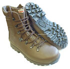 FEMALE ALTBERG Defender Brown Leather BOOTS Vibram - British Army - 12654 - NEW