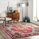 nuLOOM Vintage Corbett Multi Color Area Rug