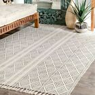 nuLOOM Hand Made Olvera Off White Area Rug