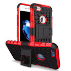 Fully Protection Hard Case Two Layers Stand Cover For iPhone 6 6S 4-7 + Screen