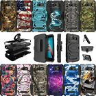 For CoolPad Defiant Holster Case Rugged  Belt Clip Stand  Camos