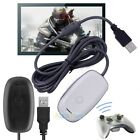 wireless game receiver - PC Wireless Gaming USB Game Receiver Adapter For Xbox360 Xbox 360 Controller