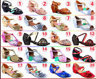 Lot 2018 Latin Shoes Fashion Girl Kid Child Party Bow Soft Buckle Dance Shoes