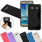 Silicone Gel SLine Phone Case Cover For Samsung Galaxy A3, A5 - 2015, 2016, 2017