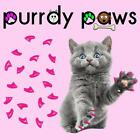 EXCLUSIVE COLOR * LIPSTICK PINK * 40 Soft Nail Caps For Cat Claws * Purrdy Paws