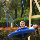 """Giant Round Tree Swing 40"""" Saucer Shape Outdoor Play Set  Kid Outdoor 2 Colors"""