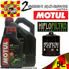 5L MOTUL 5000 10W40 OIL AND HF303RC FILTER TO FIT KAWASAKI MOTOR CYCLE 2