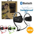 NEW Sweatproof Sports Bluetooth Earphones Headphones For iPhone Samsung LG HTC
