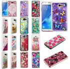 Samsung Galaxy J7 PERX J7V J727 Liquid Glitter Quicksand Hard Case Phone Cover