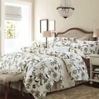 Long-Staple Cotton Floral Duvet Quilt Doona Covers Set Queen/King Size Bed Cover