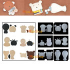 Clear Leather Craft DIY PVC Animal Coin Purse Board Plastic Template Leather