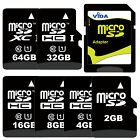 Micro SD SDHC SDXC Flash Memory Card with Adapter Fit to For Samsung Tablet PC
