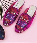 Primark Ladies Pink Floral Mules Loafers Shoes DESIGNER LOOKALIKE  SOLD OUT NEW