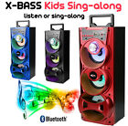 KIDS EXTRA BASS SING ALONG MACHINE - BLUETOOTH SPEAKER WITH 2 MICROPHONE