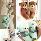 2 per set Teddy Bear Curtain Tiebacks Perfect for a Baby Bedroom or Nursery EW