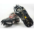 Ice Snow Ground Crampons Skating Antiskid Snow Boots Spikes Grips Cleats M L