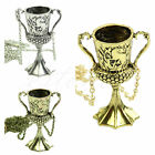 Helga Hufflepuff's Film Cup Dangle Horcrux Inspired Jewelry Necklace