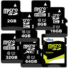 Micro SD SDHC SDXC Fast High Speed Memory Card + SD Adapter For LENOVO Tablet UK