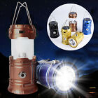 Portable Camping Hiking Lantern Collapsible LED Night Light Tent Lamp Flashlight