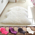 Luxury Fluffy Carpet Faux Fur Sheepskin Rugs Soft Floor Mat Chair Cover New