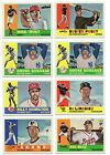 2017 Topps Archives 1960 Topps Design You Pick the Card Finish Your Set 1-100