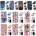 For Samsung Galaxy A5 2017 A520 Relief Premium Varnish Leather Card Pocket Cover