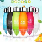 650ml H2O Fruit Infuser Water Bottle Detox Slimming Water Infusing Infusion