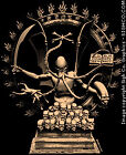 Indian Cthulhu Lovecraft goth T-shirt