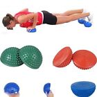 Multi-Color  Hedgehog Balance Ball Trainer Yoga Fitness Strength Exercise