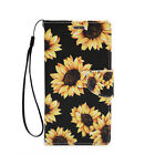 For Samsung Galaxy Note 2 Leather Wallet Flip Case Credit Card Cover Sunflowers