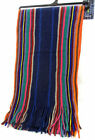MENS RJM MULTI COLOURED STRIPED SCARF STYLE - GL345