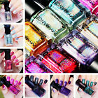 6ml Holographic Nail Polish Shiny Long-lasting Holo Polish Varnish DIY 16 Colors
