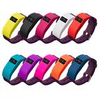 Silicone Tracker Cover Case Protector Sleeve & Dust Plug For Fitbit Charge HR