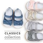 Newborn Baby Girl Bow Non-slip Princess Crib Shoes Summer Sandal Prewalker 0-18M