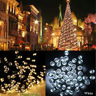 100 200 300 400 500 LED Solar Energy Fairy String Tree Lights Garden Party Deco