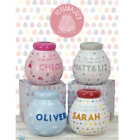 NEW Personalised Pots of Dreams - Ceramic Money Piggy Bank Birthday Gifts