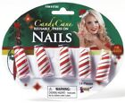 Candy Cane Fingernails Costume Accessory One Size