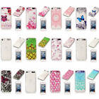 For iPod Touch 5 6 Soft Shockproof Rubber Glossy Light Practical Back Case Cover