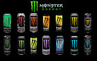 MONSTER ENERGY DRINKS 500ml ALL FLAVOURS & QUANTITIES FOR £4.00 SPORT GYM