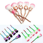 New 6pcs Disney Beauty and the Beast Enchanted Rose Make up Brushes US