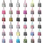Lightweight All Aspire Travel Laundry Shopping Zipper Utility Shoulder Tote Bag