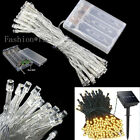 100-200LED Solar String Lights Home Garden Party Deco Fairy Lightings 12-22m UK
