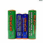 8 AA AM3 2800mWh + 8 AAA LR03 1150mWh NiZn 1.6V Rechargeable Battery Utracell