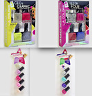 Nail Polish Sets LA Colors Fiesta Four Geo Graphic Dreamer Brighter Pink Decals